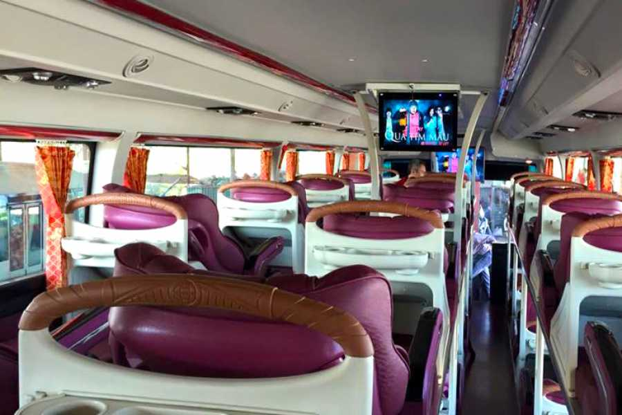 Vietnam 24h Tour Bus Sapa - Hanoi (Roundtrip Ticket)