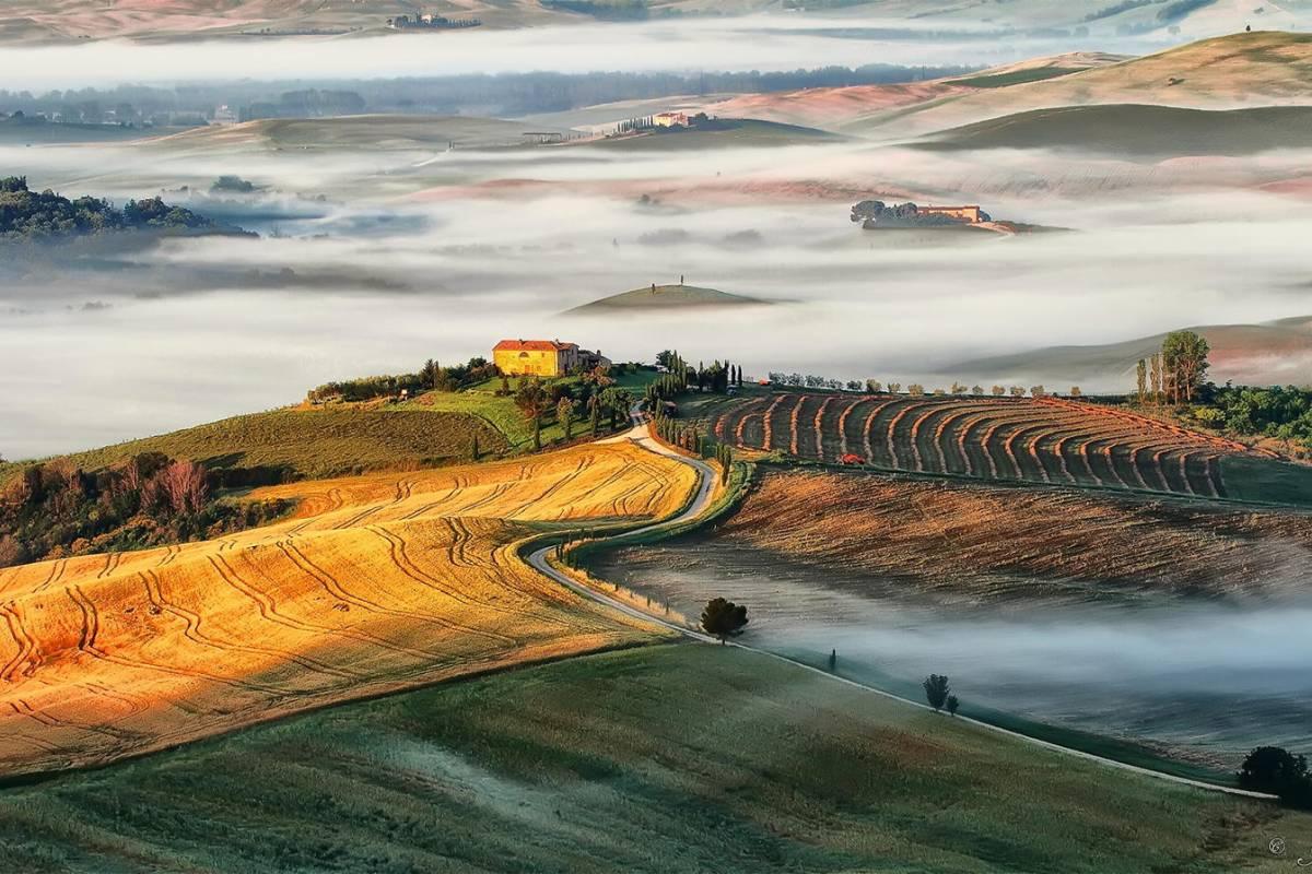 Winetouritaly.com VAL D'ORCIA & BRUNELLO PRIVATE TOUR