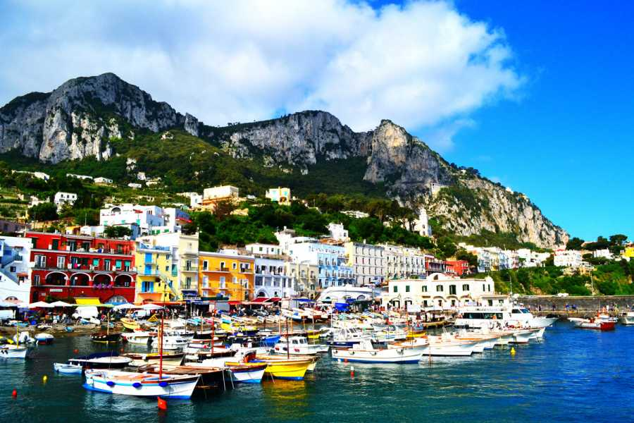 HP Travel Capri Sea View: Cliffs, caves and coastal landscapes