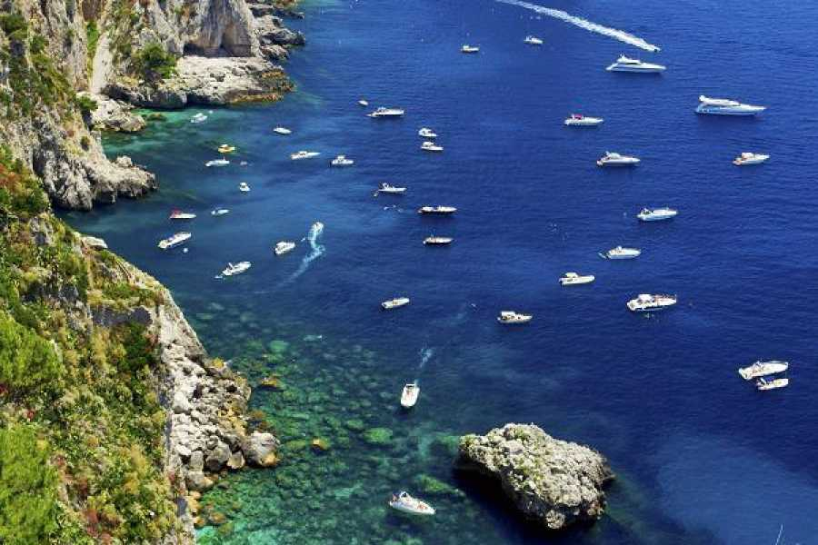 HP Travel Exploring Capri and Anacapri from Naples - Sea and city sightseeing tour