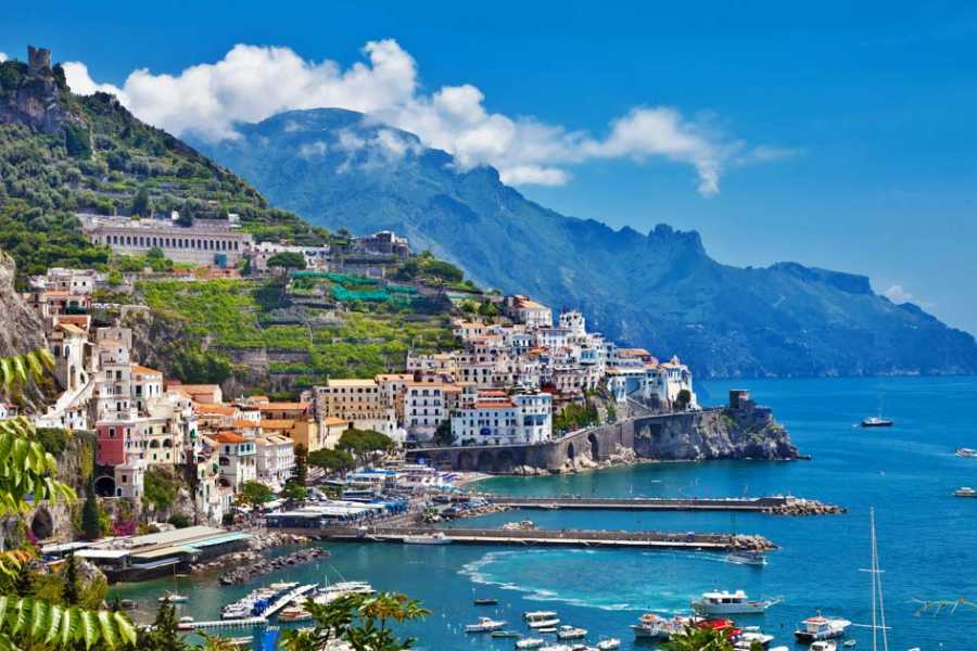 HP Travel Sorrento coast, Positano and Amalfi Boat Experience from Naples