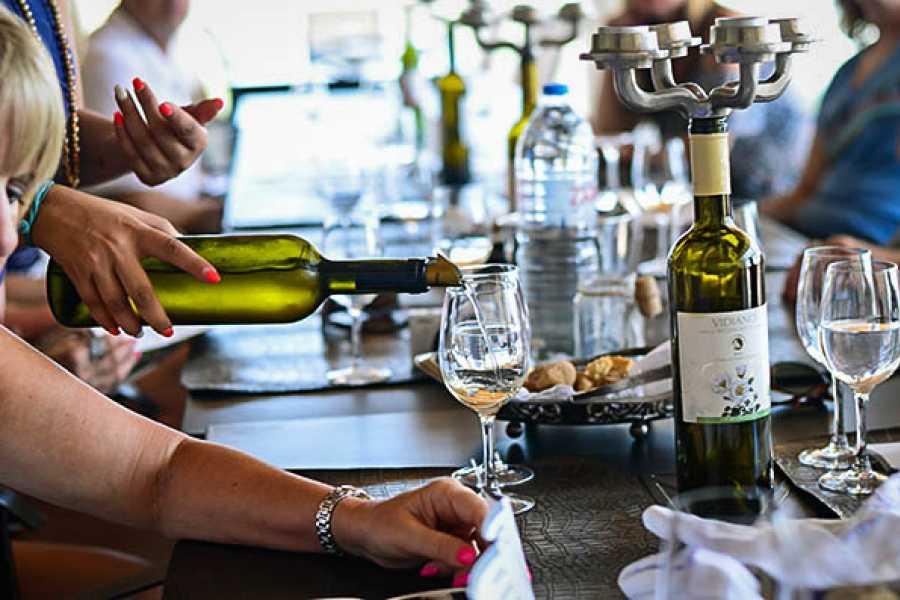Vintage Routes Crete Group Tour Peza Wine Roads Tour