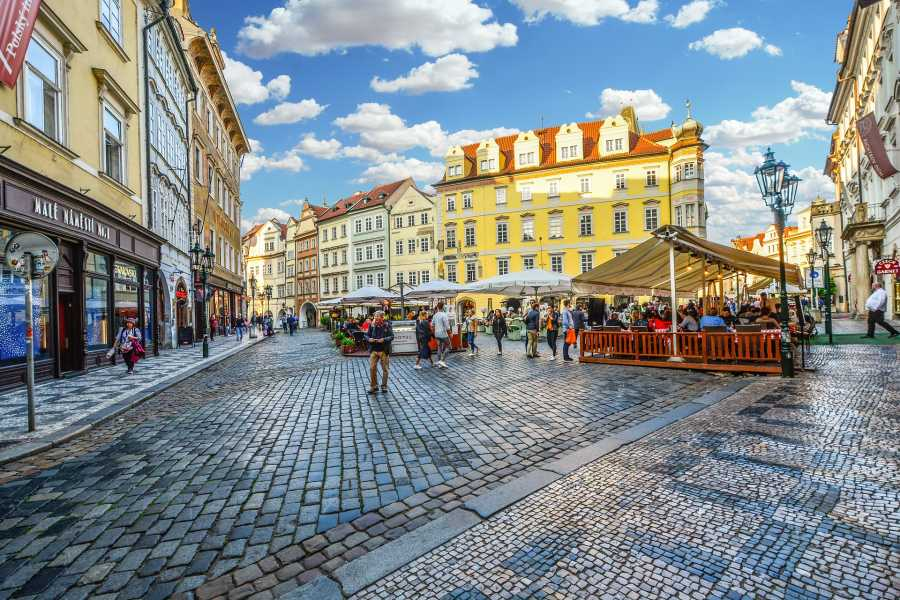 walks in europe Prague Old Town and Mala Strana ( Shared)