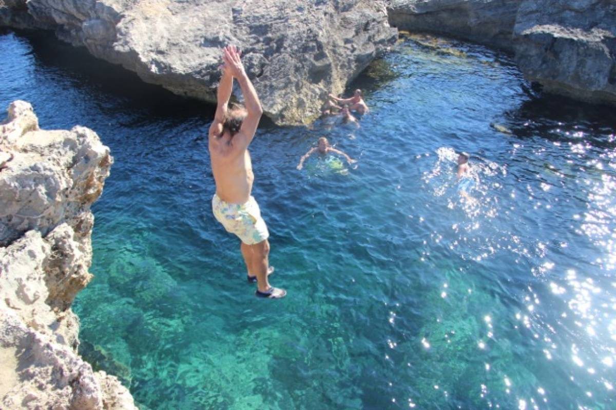 rockidibiza CLIFF DIVING TALAMANCA
