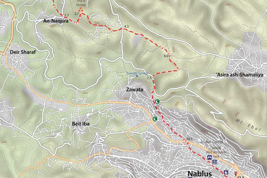 Siraj Center Wednesday,10 of Nov. 2021 - Sebastia to Nablus - Thru Hike