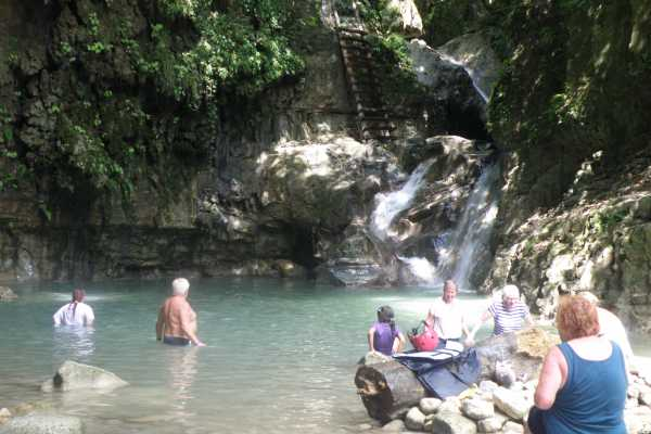 12 Damajagua Waterfalls from Sosua