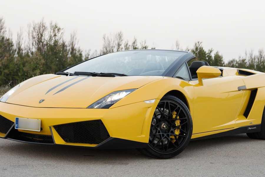 rockidibiza Lamborghini LP560-4 spyder Experience