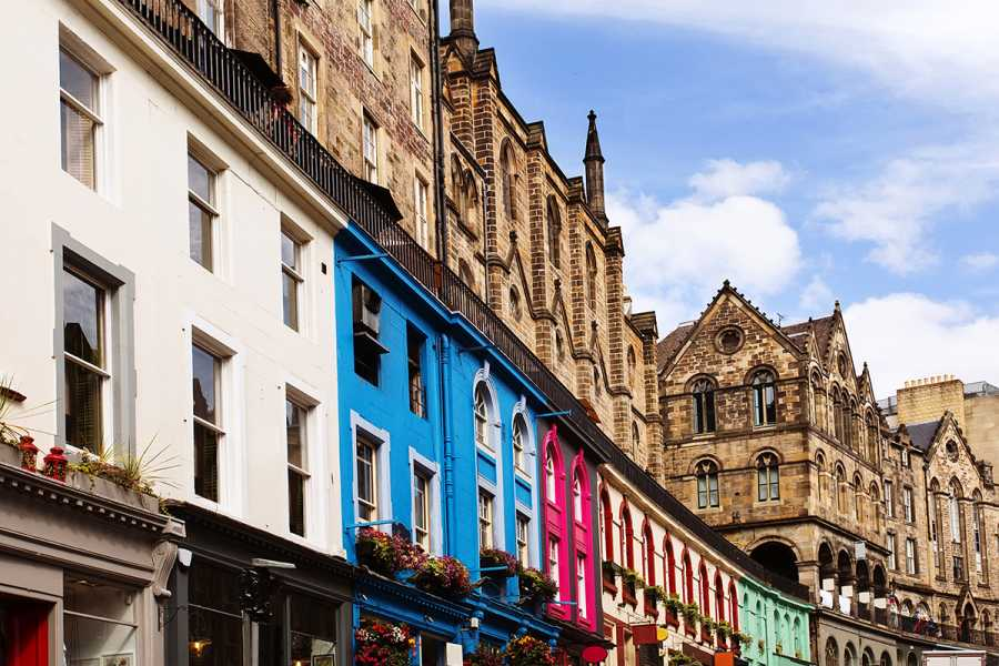 SANDEMANs NEW Europe Tour General de Edimburgo