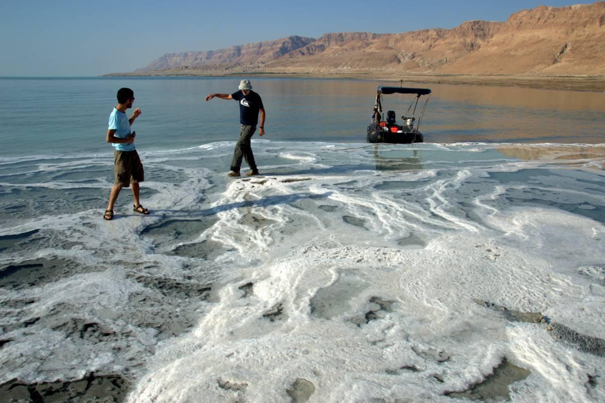 Wild-Trails Dead Sea Boating