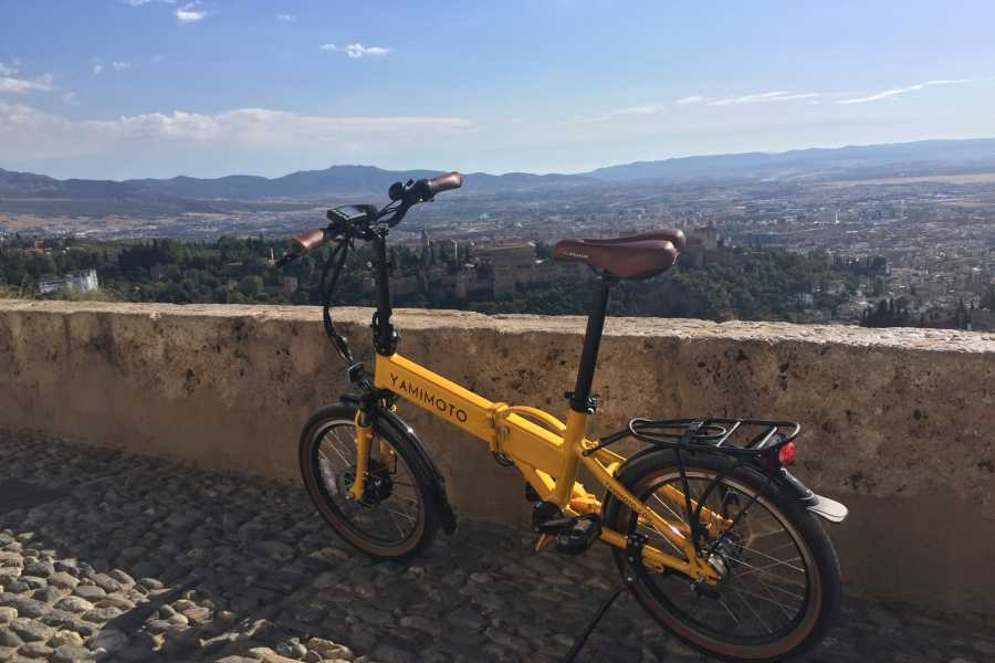 NHUE BICITAPA- Electric bike guided route