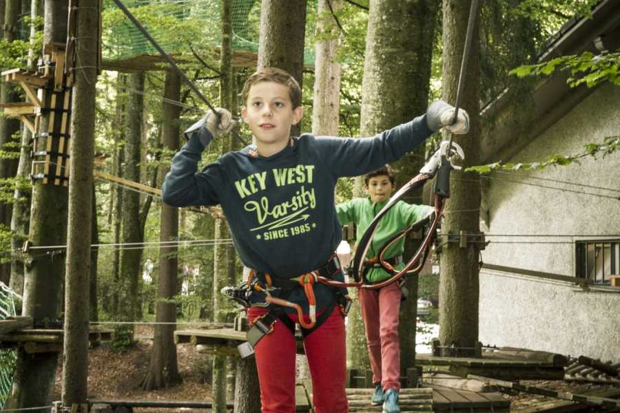 Outdoor Interlaken AG 因特拉肯户外绳索乐园(Adventure Park Interlaken)