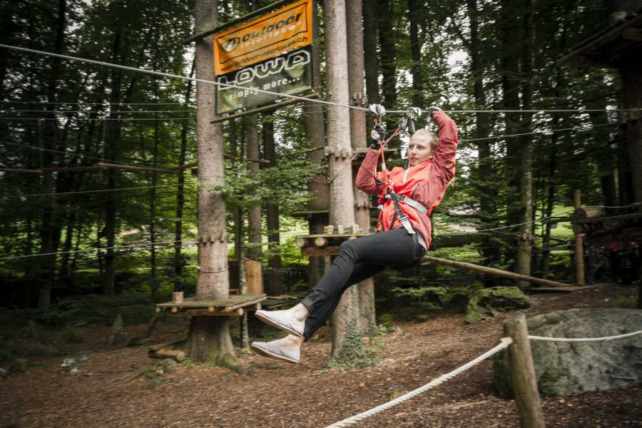 Outdoor Interlaken AG 어드벤처 파크 (Ropes Park Interlaken)