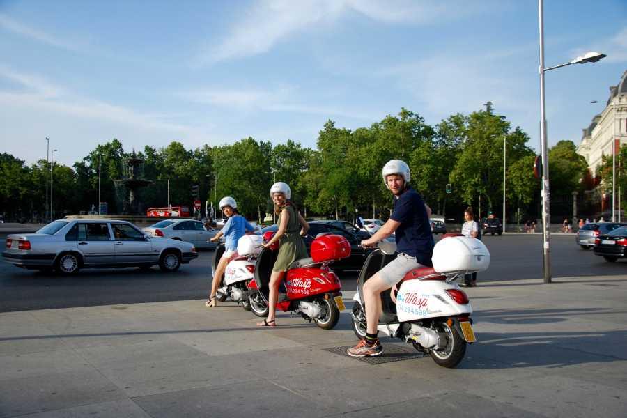 Urban Safari Tours Vespa: 1/2 day + GPS Tour