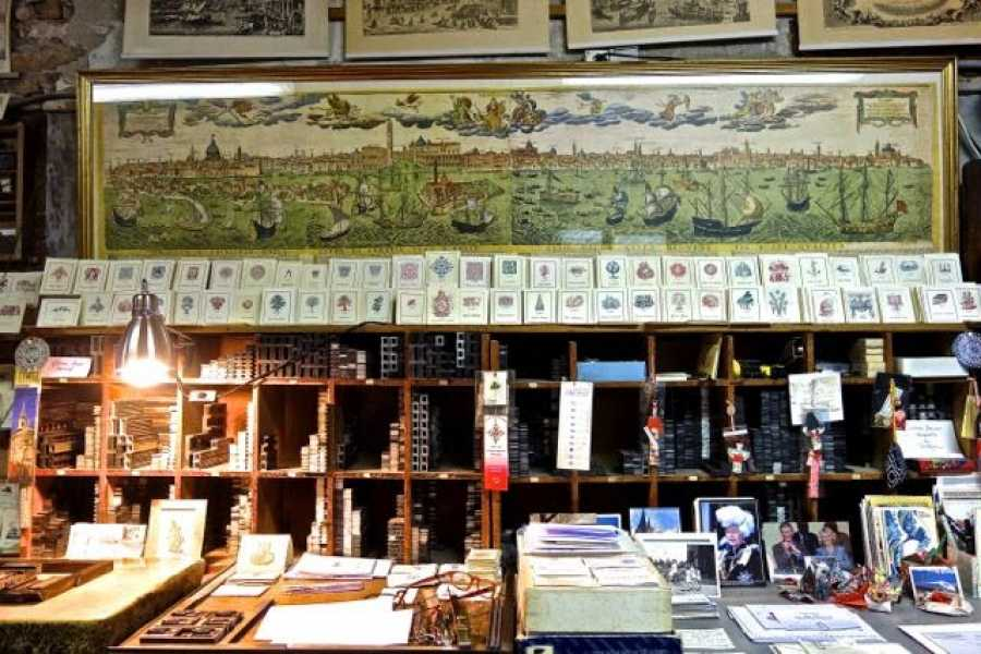 Venice Tours srl Create your business card in an ancient print-shop