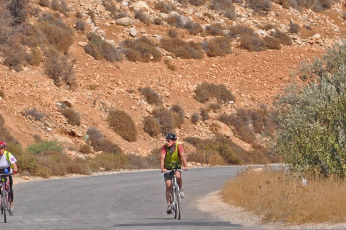 Siraj Center 22 October  2017, Sunday. Bike Jericho City