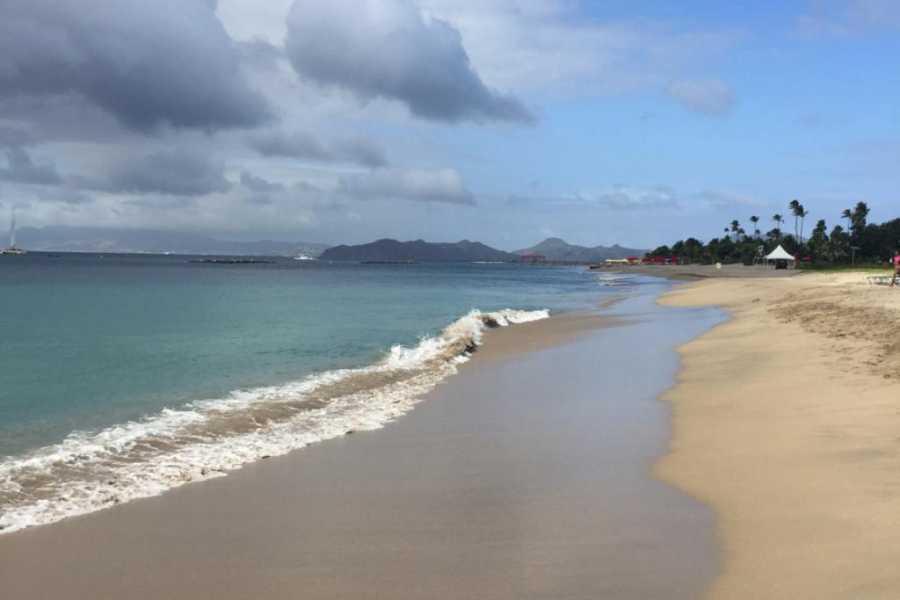 Blue Water Safaris Nevis Beach Getaway from St Kitts
