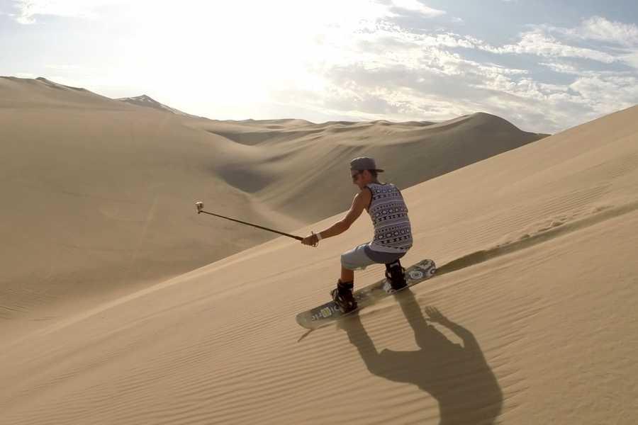 SANDPERU A2 HIKING + DUNE BUGGY | SANDBOARDING | SANDSKIING