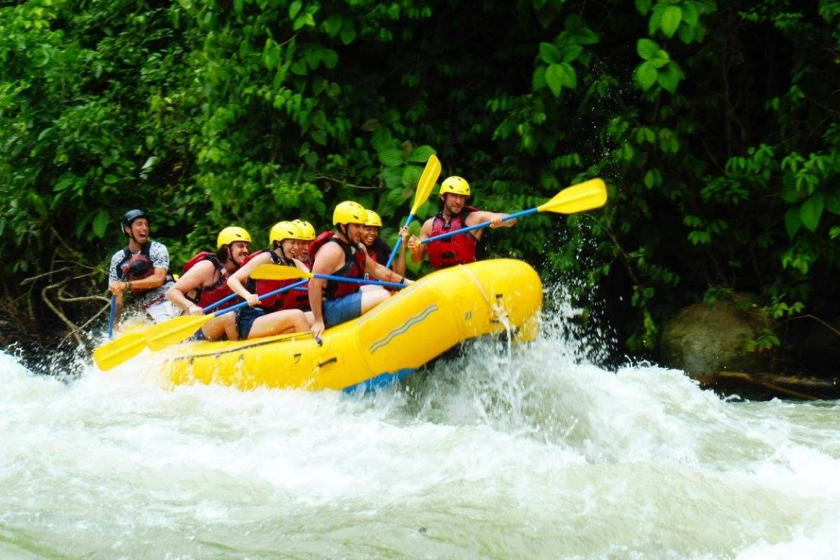 Uvita Information Center White Water Rafting at Savegre U$100pp