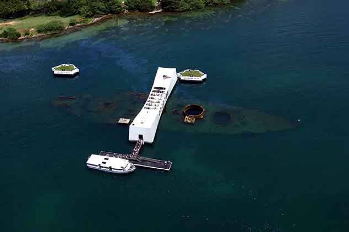 Dream Vacation Builders Kona to Oahu: One Day Pearl Harbor Tour
