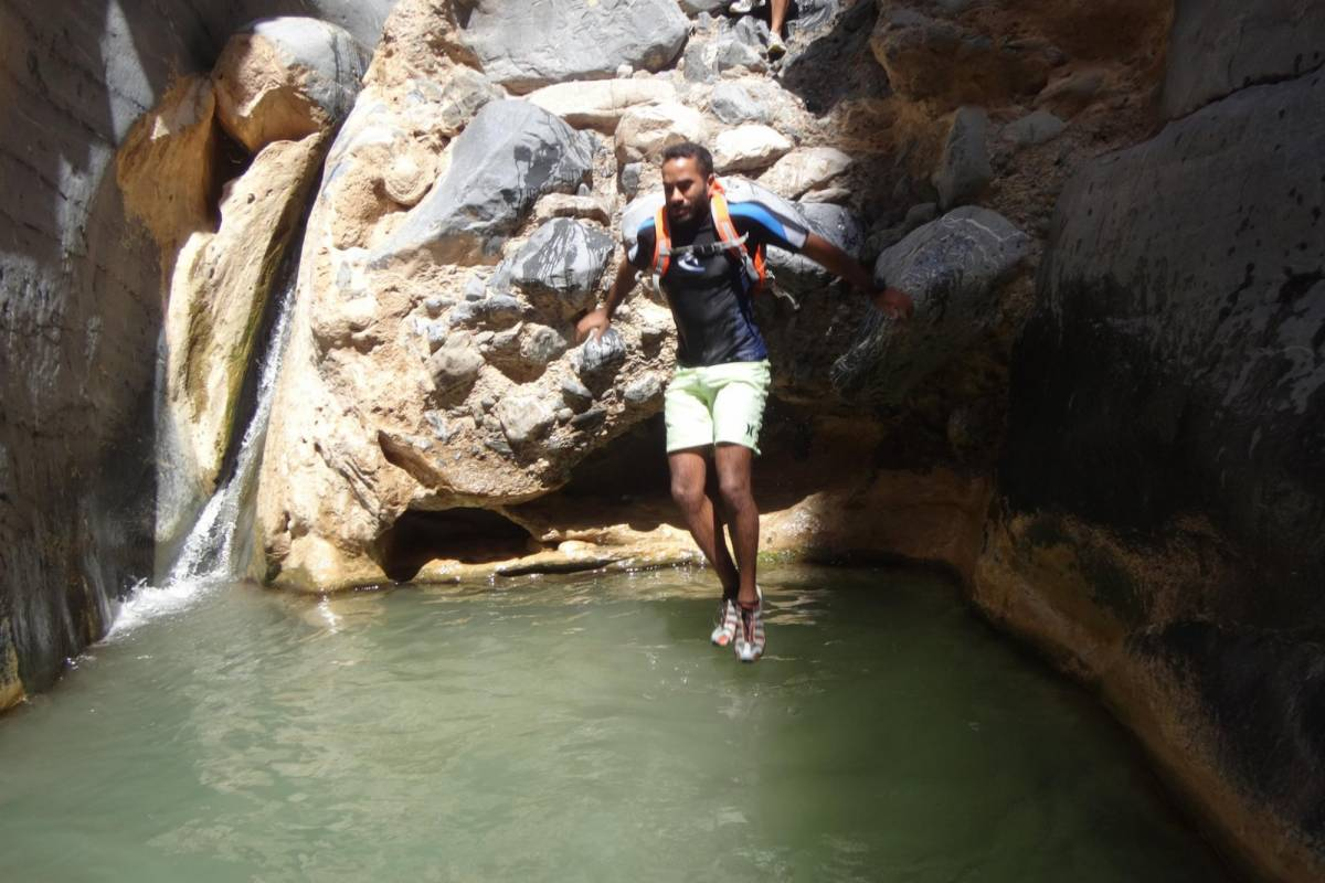 Adventurati Outdoors Canyoning at Snake Gorge in Oman - Intermediate