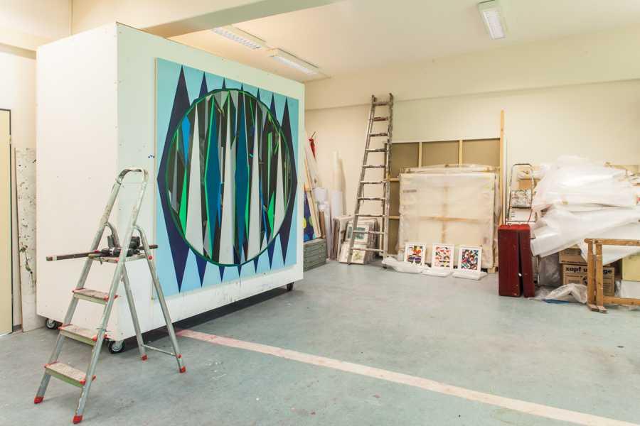Explorabilia Berlin Art Studio Visit - Rebecca Michaelis
