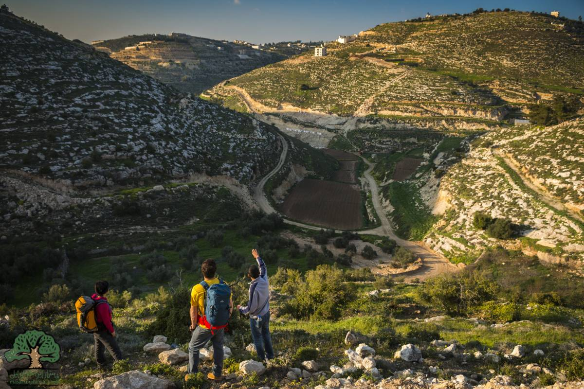 Siraj Center 18 - 24 November 2017, Tuqua to Beit Mirsim, Thru Walk 2017