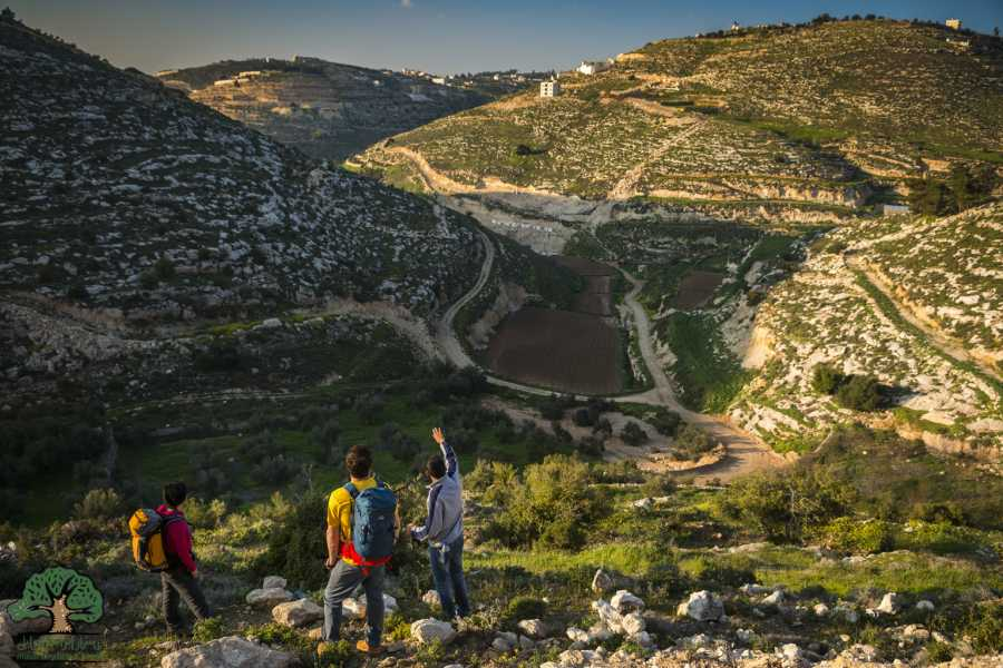 Siraj Center 17 March - 23 March 2018, Tuqua to Beit Mirsim, Spring Thru-Hike 2018