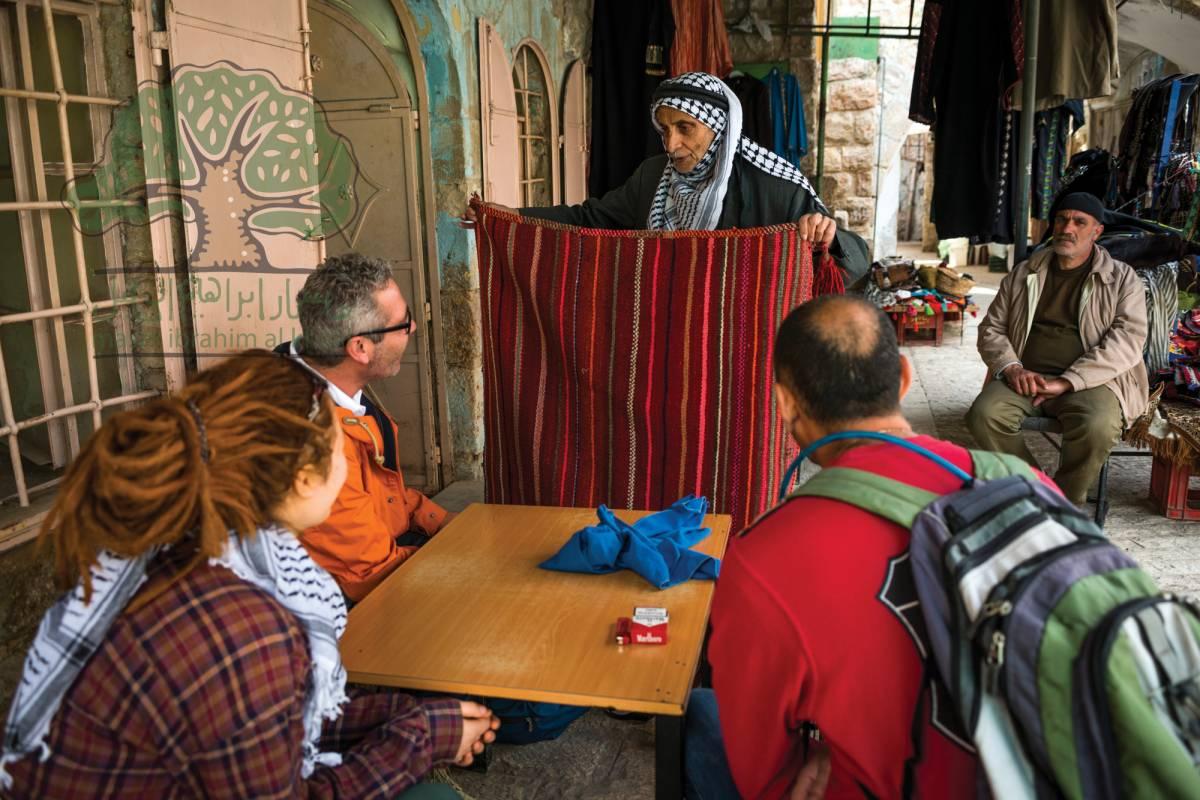 Siraj Center 24 - 25 November 2017, Adh-Dahriya to Beit Mirsim & Hebron City Tour. Thru Hike 2017
