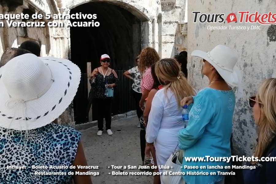 Tours y Tickets Operador Turístico Paquete 8 Atractivos Museos y Acuario en Veracruz