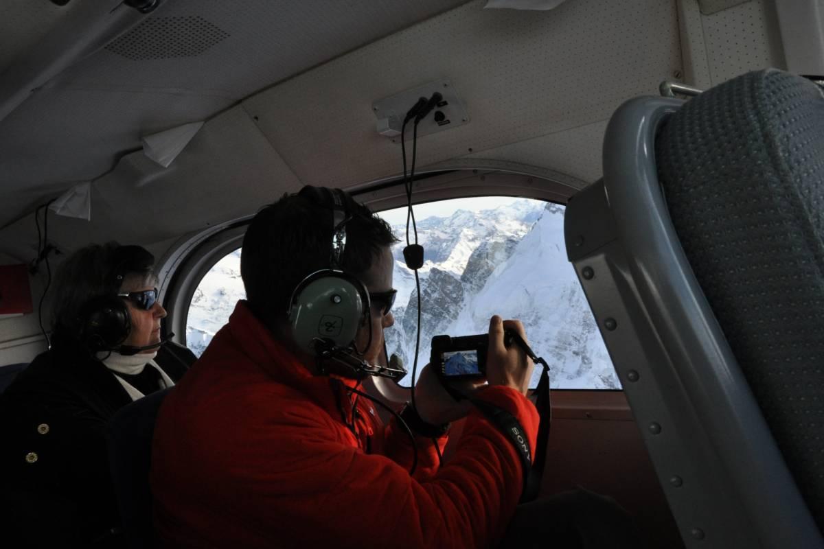 Skydive Switzerland GmbH Rundflug Mt. Blanc