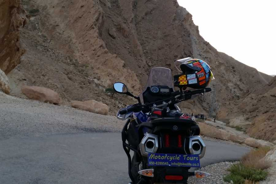 Bikelife - Motorcycle Tours in Israel The Desert Challenge-Self guided