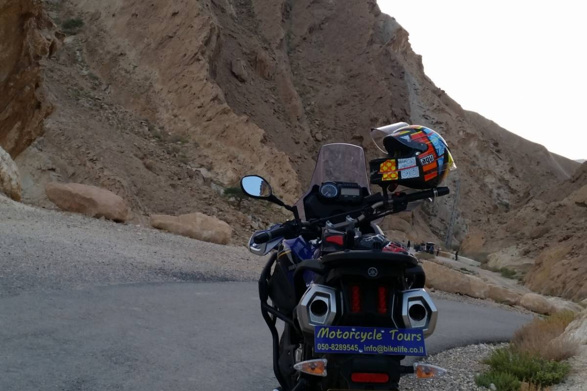 Bikelife - Motorcycle Tours in Israel 2 days in Southern Israel-Self guided