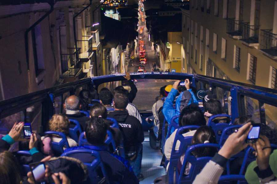 Viajando por Ecuador QUITO AT NIGHT