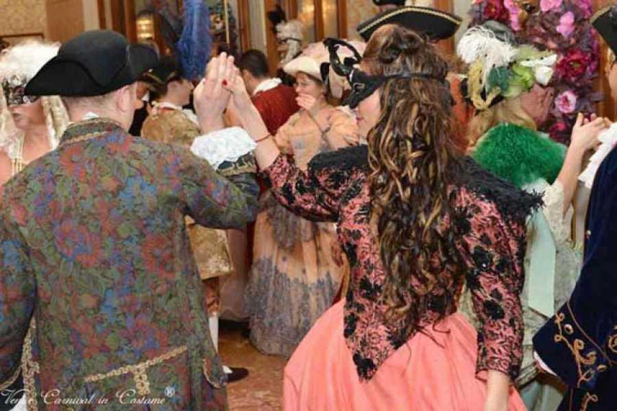 Venice Tours srl CARNIVAL Minuetto Ball - Dinner&Dance, Marco Polo Hall, hotel Danieli