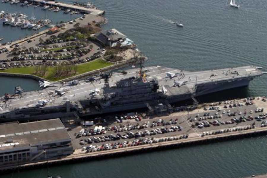 Dream Vacation Builders USS Midway San Diego Museum Admission