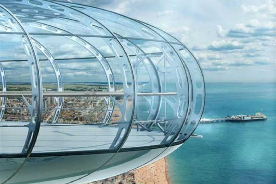 Halal Tourism Britain Brighton with I360 and Afternoon Tea