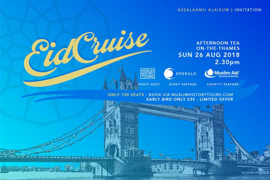 Halal Tourism Britain Eid Cruise with Afternoon Tea in London