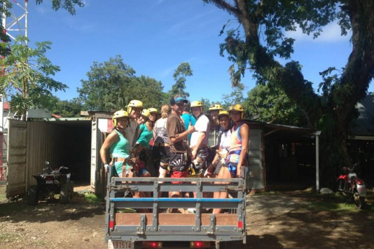 Uvita Information Center CANYONING AT 5 WATERFALLS