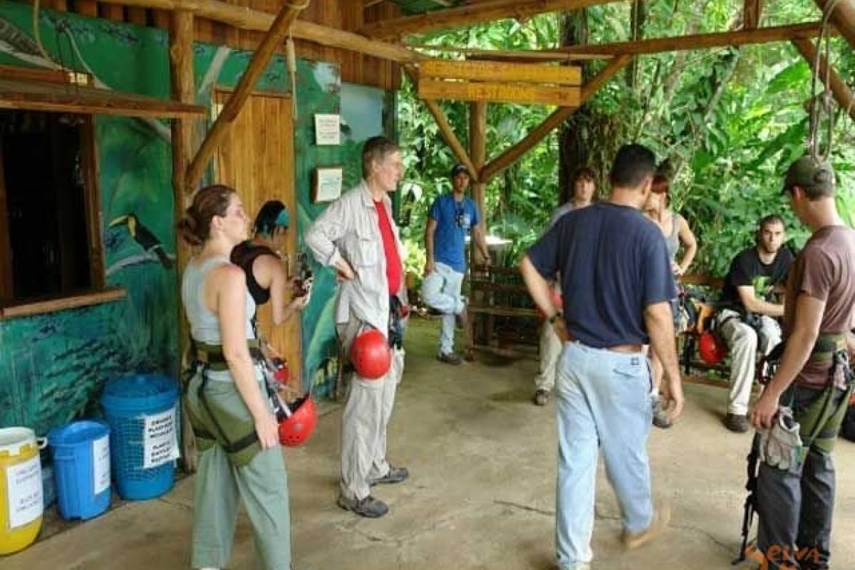 Uvita Information Center Canopy Tour Hacienda Baru
