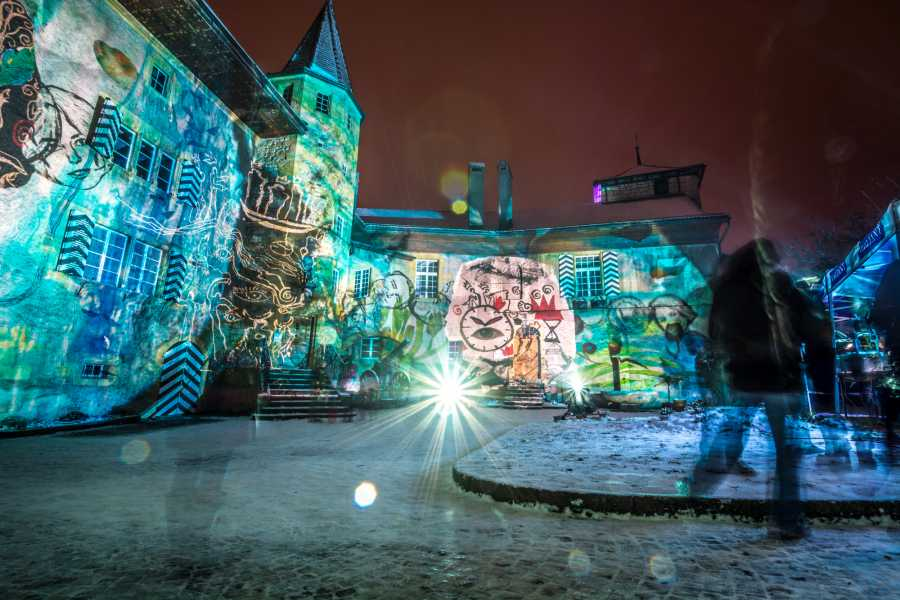 Murten Tourismus / Morat Tourisme Traumnacht am Licht-Festival