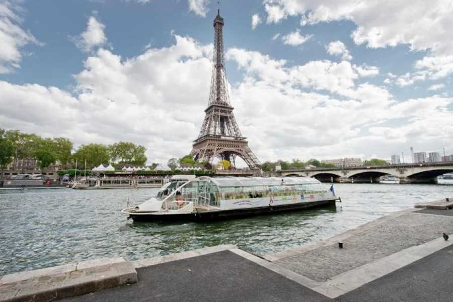Halal Tourism Britain Panoramic View of Paris with cruise