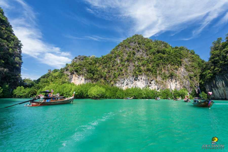 AMICI MIEI PHUKET TRAVEL AGENCY SELF PADDLE CANOE IN KOH HONG , KRABI
