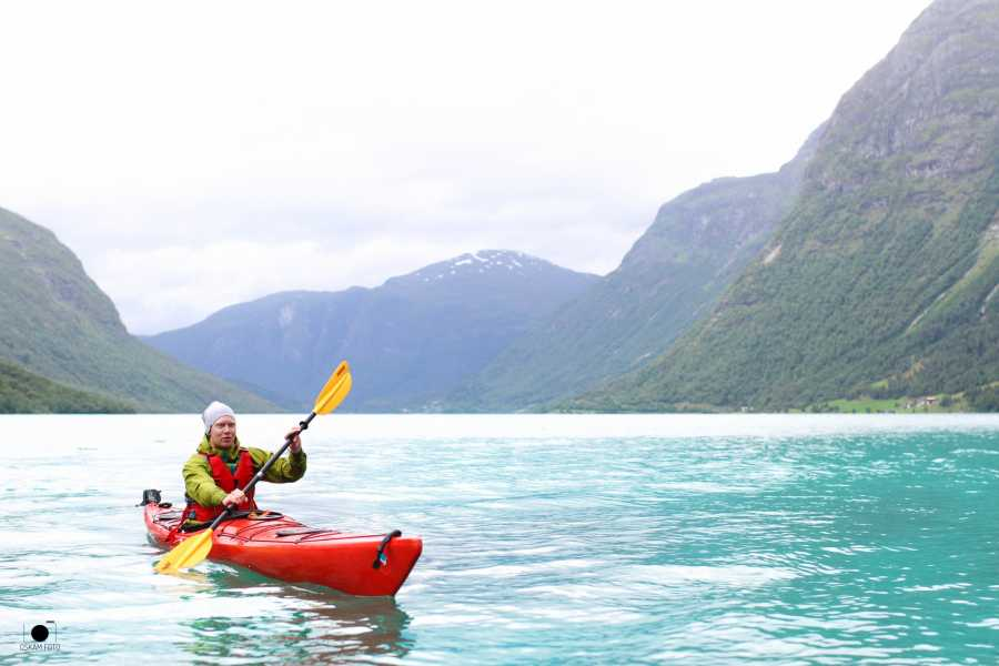 Destinate Norway Kayaking the dramatic Loen valley