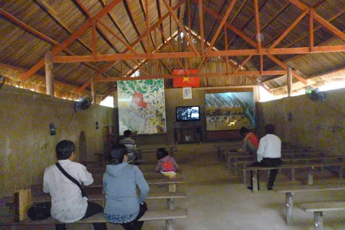 Tam Global Travel Cu Chi Tunnels (Half day)