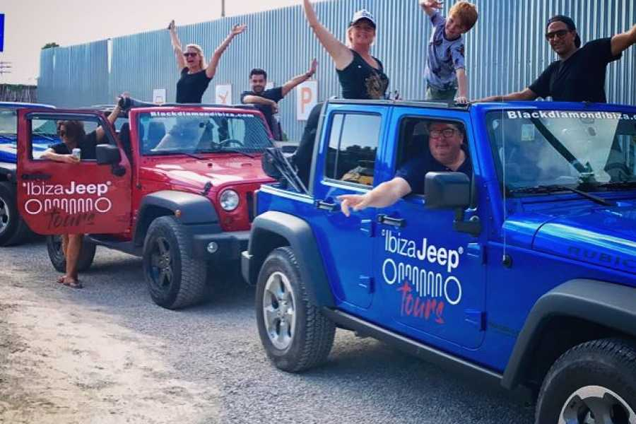 Ibiza Jeep Tours HALF DAY JEEP TOURS