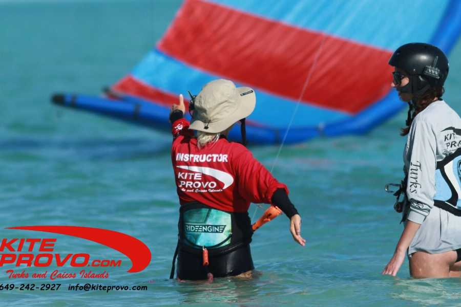 Kite Provo & SUP Provo Kiteboarding Lessons - Ultimate Experience Package / Camp - 15hrs