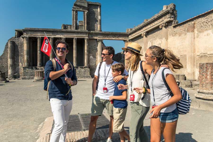 Travel etc Skip-the-line Pompeii and Mount Vesuvius Tour From Positano