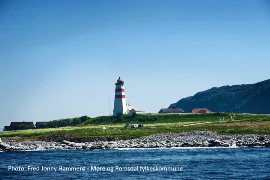 Travel like the locals (Møre og Romsdal) Round trip to Godøy & Alnes Lighthouse