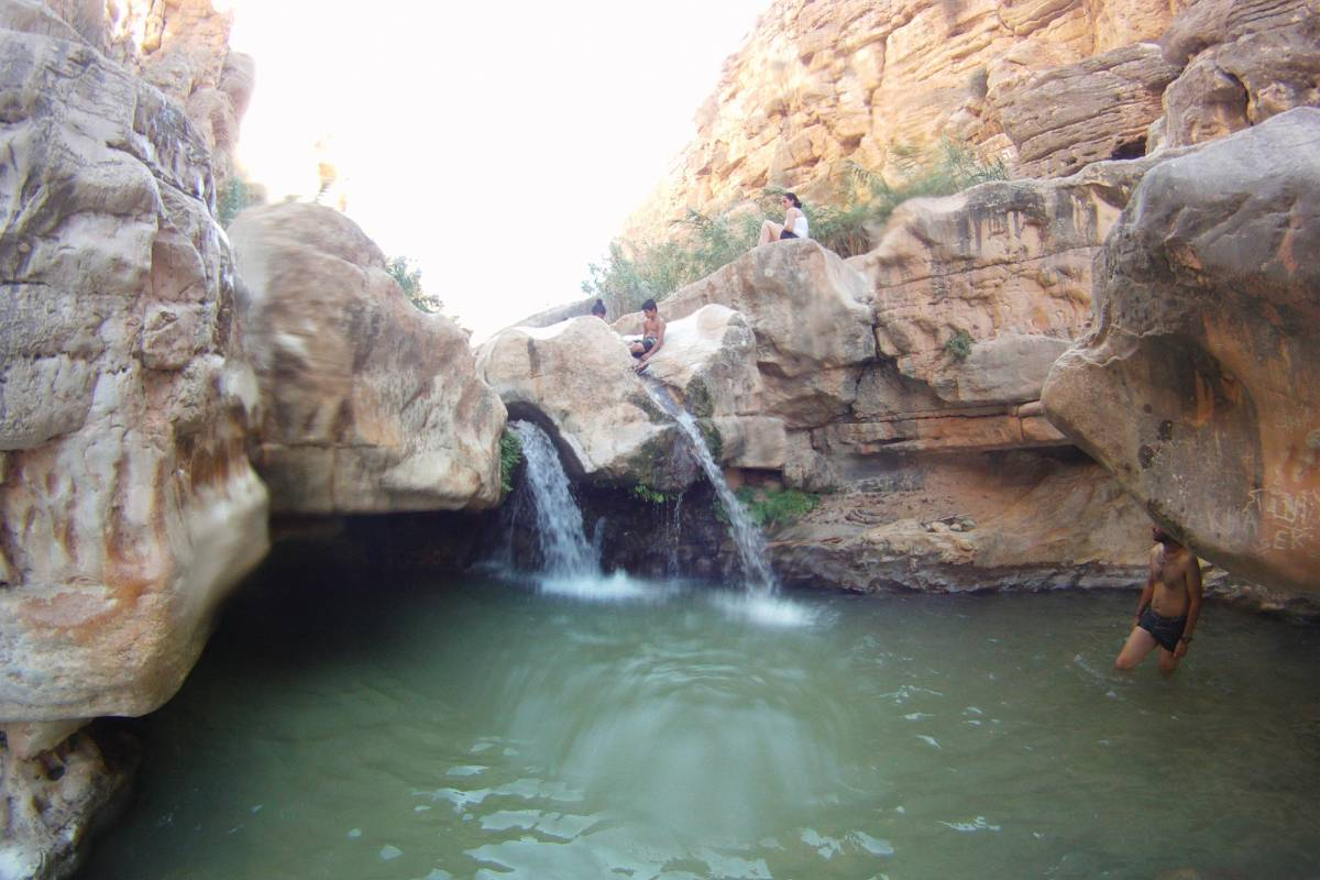 Wild-Trails Desert Oasis Hiking- Wadi Al Qelt