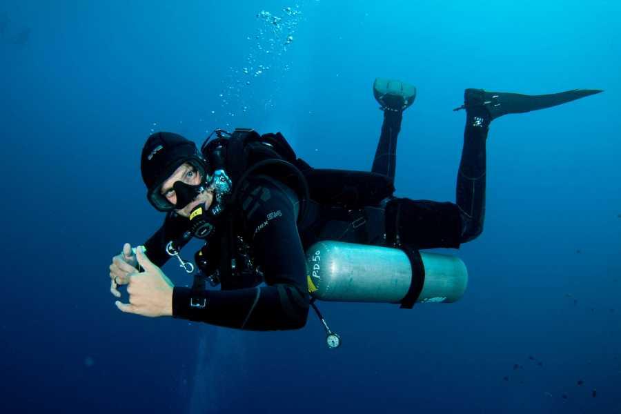 Marina Blue Haiti PADI Sidemount Diver